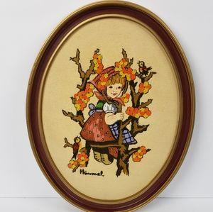 Hummel Cross Stitch Embroidery Apple Tree '81